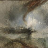 Snow Storm - Steam-Boat off a Harbour's Mouth exhibited 1842 Joseph Mallord William Turner 1775-1851 Accepted by the nation as part of the Turner Bequest 1856 http://www.tate.org.uk/art/work/N00530